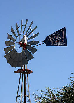 State Fair of Texas Windmill by Laurie Poetschke