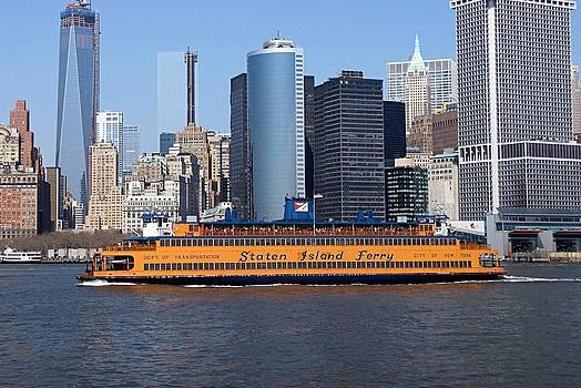 Staten Ferry by Thomas Fouch