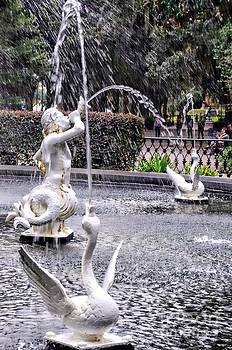 Statues In The Fountain by Kathleen Struckle