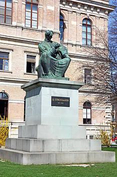 Statue of Bishop Strossmayer by Borislav Marinic