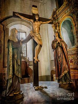 Adrian Evans - Statue of Jesus