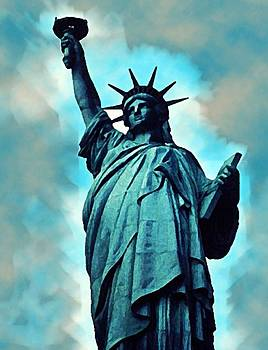 Statue of Liberty by Anke Wheeler