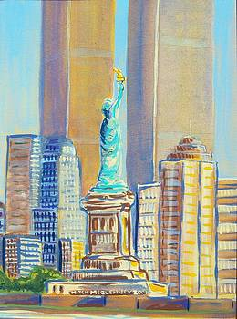 Statue of Liberty by Mitchell McClenney