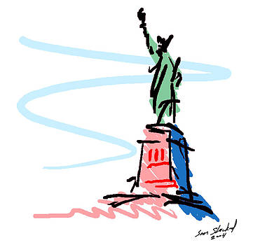 Statue of Liberty by Sam Shacked