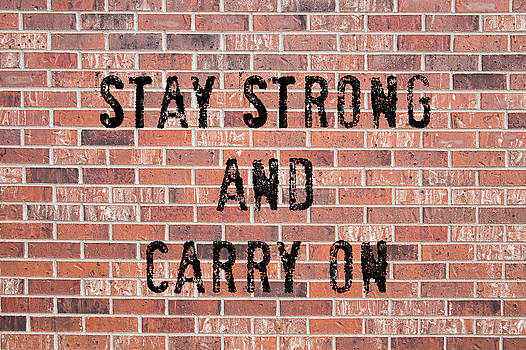 James BO  Insogna - Stay Strong And Carry On