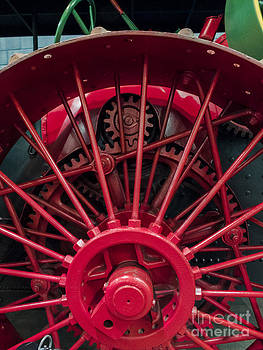 Case Steam Traction Engine by David Pettit