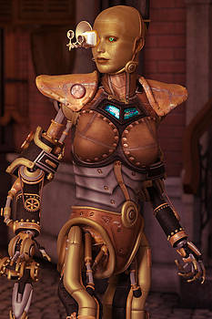 Liam Liberty - Steampunk Android