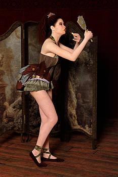 Liam Liberty - Steampunk Burlesque - Backstage