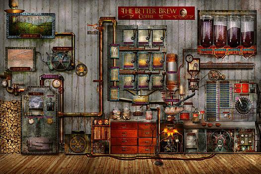 Mike Savad - Steampunk - Coffee - The company coffee maker