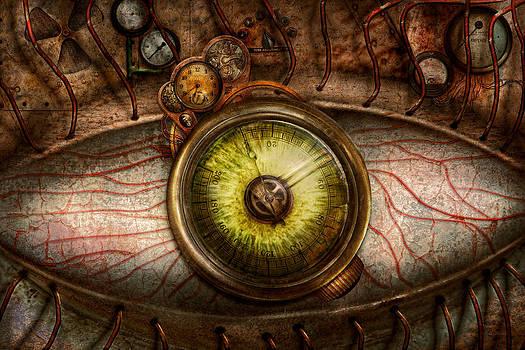Mike Savad - Steampunk - Creepy - Eye on technology