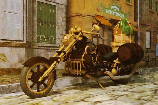 Liam Liberty - Steampunk Motorbike