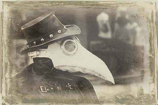 Steampunk Plague Doctor by David April