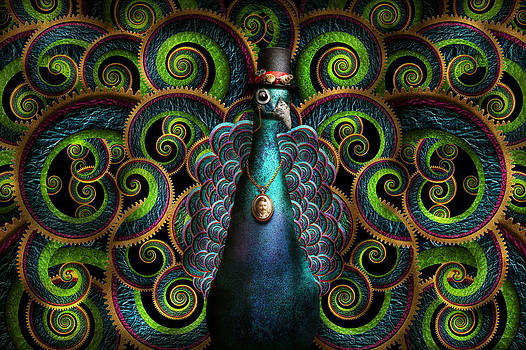 Mike Savad - Steampunk - Pretty as a peacock