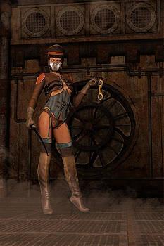 Liam Liberty - Steampunk Sally - Dominatrix