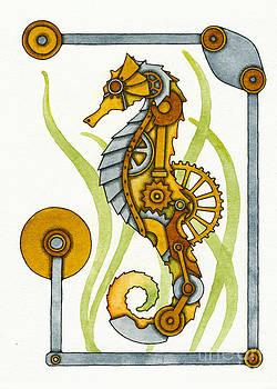 Steampunk Seahorse by Nora Blansett