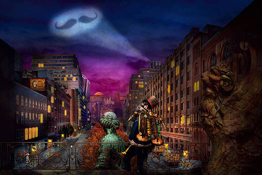 Mike Savad - Steampunk - The Great Mustachio