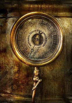Mike Savad - Steampunk - The pressure gauge