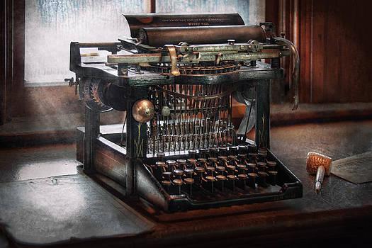 Mike Savad - Steampunk - Typewriter - A really old typewriter