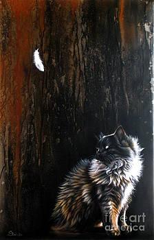 Steel Black Cat by Sandi Baker
