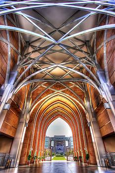 Steel Entrance by Sham Osman