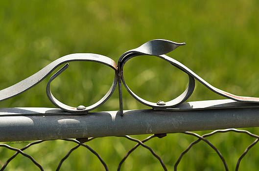 Kae Cheatham - Steel Fence Decor