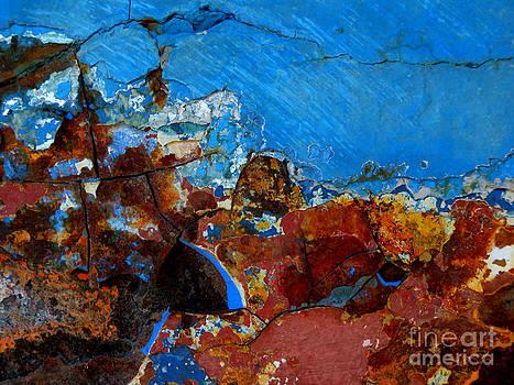 Steel Hull Abstract by Robert Riordan