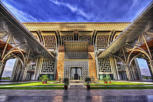 Steel Mosque by Sham Osman
