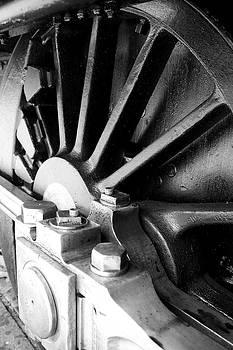Steel wheel. by Ian  Ramsay