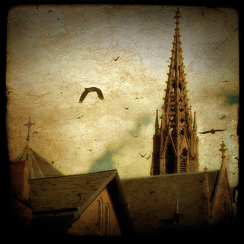 Gothicolors Donna Snyder - Steeple Crows
