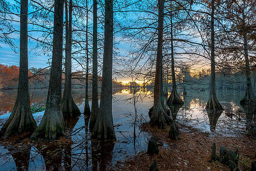 David Morefield - Steinhagen Reservoir Sunrise