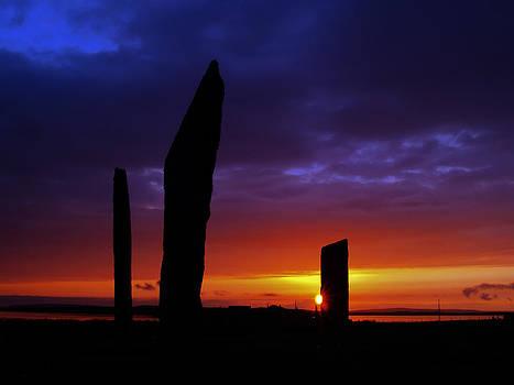 Stennes Sunset by Steve Watson