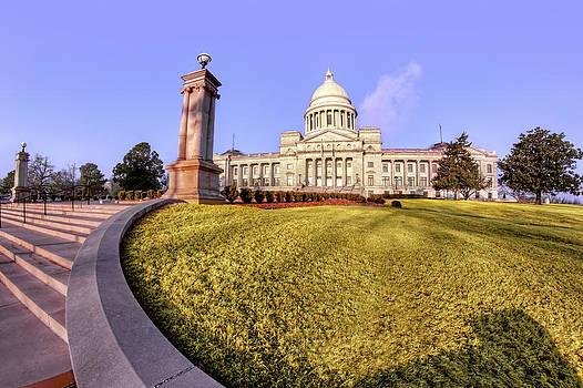 Jason Politte - Steps to the Capitol - Arkansas - Little Rock