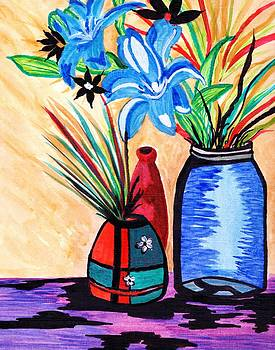 Still Life Flowers by Connie Valasco