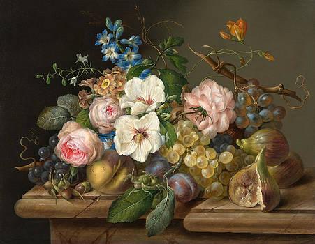 Still Life by Franz Xaver Petter