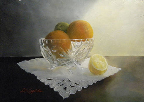 Still Life In Crystal by Lori Ippolito
