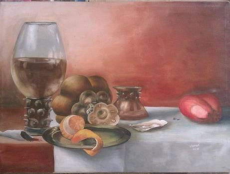 Still life by Kiran Firdous