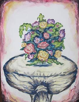 Still Life of Flowers - wcs by Cheryl Pettigrew