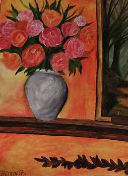 Still life on the Mantle by Christy Saunders Church