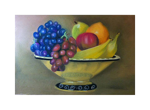 Still life pastel by Graciela Scarlatto