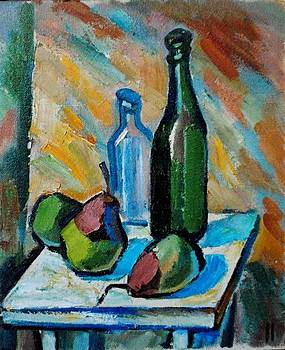Still Life With Pear by Najmaddin Huseynov
