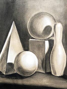 Irina Sztukowski - Still Life Study Of Forms
