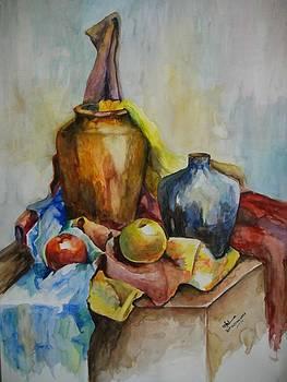 Still Life Water Painting  by Umme Kulsoom