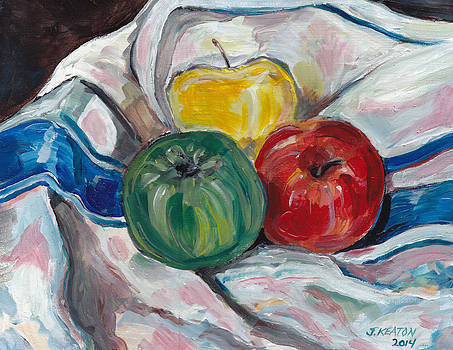 Still Life with Apples by John Keaton