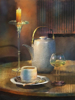 Still life with coffee by Zia Art