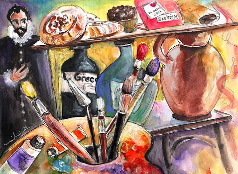 Miki De Goodaboom - Still Life with El Greco in Toledo