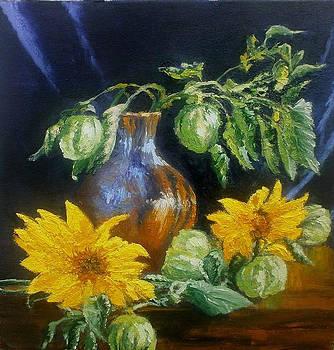 Still life with jug by Yaroslav Kuvshinov