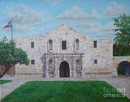 Still Standing Strong - the Alamo by Terrie Leyton