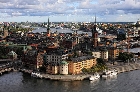 Alex Sukonkin - Stockholm panorama from Stadshuset