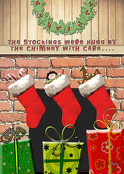 Stockings Were Hung With Care by Arline Wagner