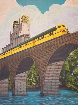 Stone Arch Bridge by Jude Labuszewski